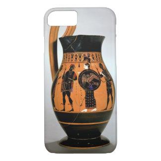 Attic black-figure olpe depicting Athena Confronti iPhone 7 Case