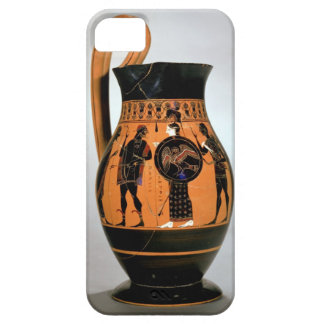 Attic black-figure olpe depicting Athena Confronti iPhone SE/5/5s Case