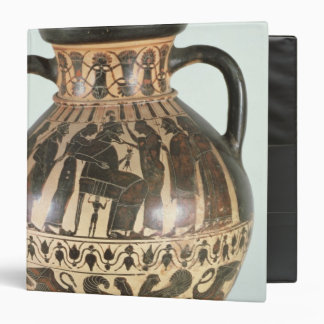 Attic Corinthian amphora 3 Ring Binders