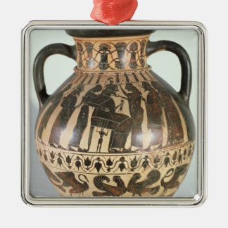 Attic Corinthian amphora Christmas Ornaments