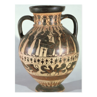 Attic Corinthian amphora Post Card