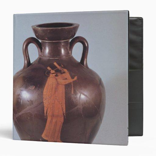 Attic red figure amphora vinyl binder