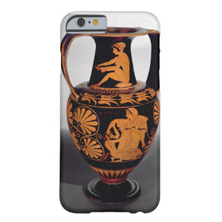 Attic red-figure amphora depicting a satyr struggl barely there iPhone 6 case