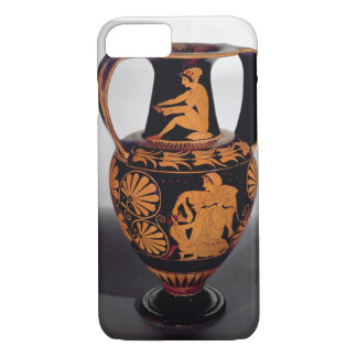 Attic red-figure amphora depicting a satyr struggl iPhone 7 case