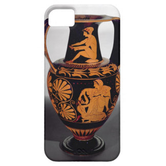 Attic red-figure amphora depicting a satyr struggl iPhone SE/5/5s case