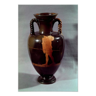 Attic red-figure amphora poster