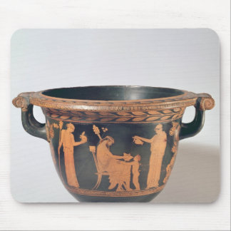 Attic red-figure bell krater, c.450-440 BC Mouse Pad
