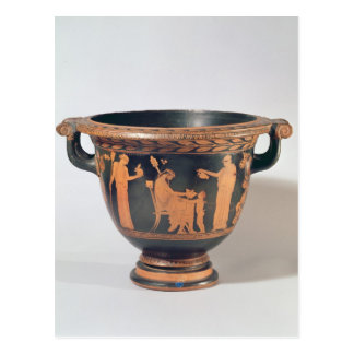 Attic red-figure bell krater, c.450-440 BC Postcard