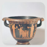 Attic red-figure bell krater, c.450-440 BC Square Stickers