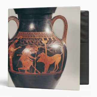 Attic red-figure belly amphora 3 ring binder