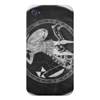 Attic red-figure cup iPhone 4 cases