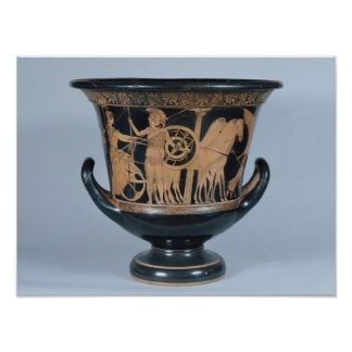 Attic red-figure kalyx krater poster