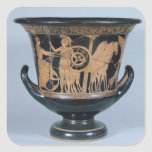 Attic red-figure kalyx krater square stickers