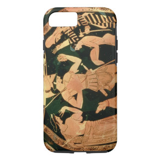 Attic Red figure vase depicting a soldier taking p iPhone 7 Case