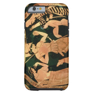 Attic Red figure vase depicting a soldier taking p Tough iPhone 6 Case