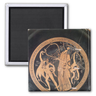 Attic red-figure vase refrigerator magnet