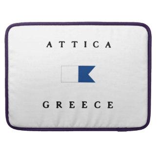 Attica Greece Alpha Dive Flag MacBook Pro Sleeve