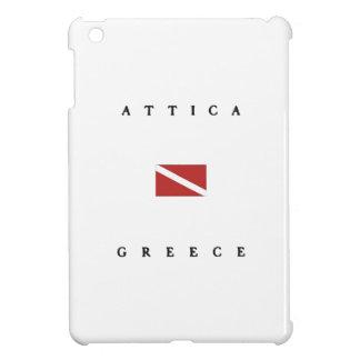 Attica Greece Scuba Dive Flag iPad Mini Cover
