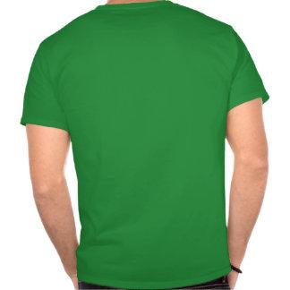 Attila camisa verde y negra del Hun del sello