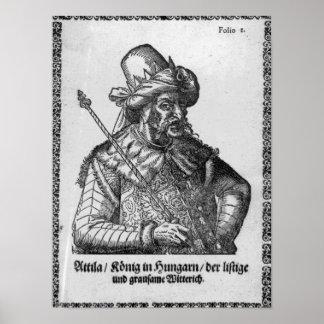 Attila el Hun Poster