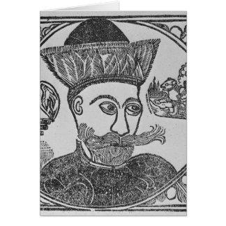 Attila el Hun Tarjeta De Felicitación