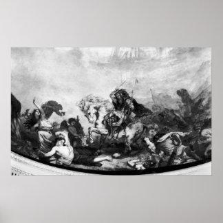 Attila el Hun y sus hordas Póster