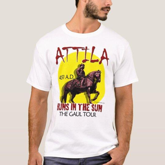 """Attila """"Huns en viaje del Sun"""" (frente de la luz Playera"""