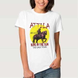 """Attila """"Huns en viaje del Sun"""" (la luz de las Remera"""