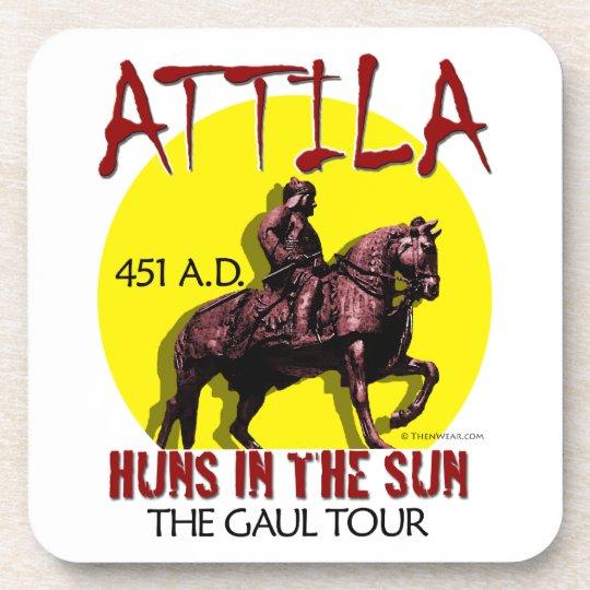 "Attila ""Huns in the Sun Tour"" Coasters"