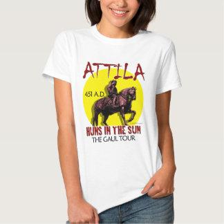 Attila 'Huns in the Sun' Tour (Ladies Light Front) T Shirt