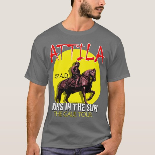 "Attila ""Huns in the Sun"" Tour (Men's Dark) T-Shirt"
