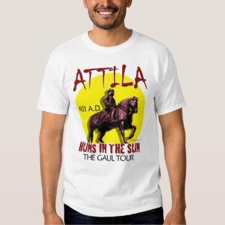 Attila 'Huns in the Sun' Tour (Men's Light Front) T-shirt