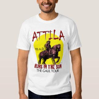 "Attila ""Huns in the Sun"" Tour (Men's Light) Tee Shirt"