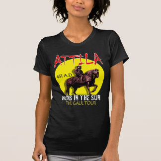 Attila 'Huns in the Sun' Tour (Women's Dark Front) T-shirt