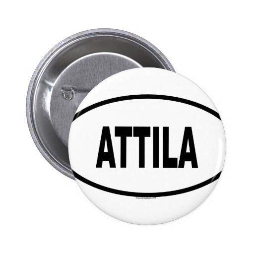 ATTILA PIN REDONDO DE 2 PULGADAS