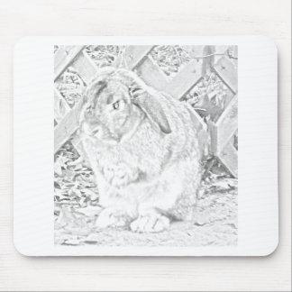 Attila the Bun Mouse Pad