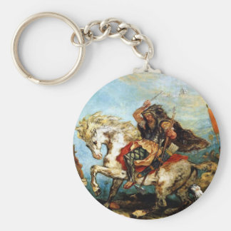 attila-the-hun-4 basic round button keychain
