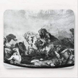 Attila the Hun  and his hordes Mouse Pad