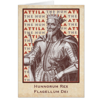 Attila The Hun: Hunnorum Rex, Flagellum Dei Card