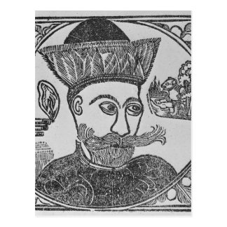 Attila the Hun Postcard