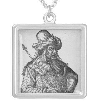 Attila the Hun Silver Plated Necklace