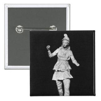 Attis dancing, Hellenistic period Button