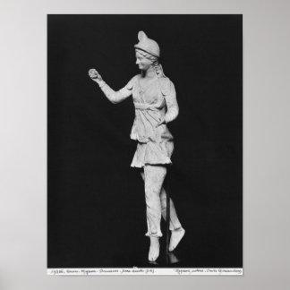 Attis dancing, Hellenistic period Print