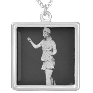 Attis dancing, Hellenistic period Silver Plated Necklace