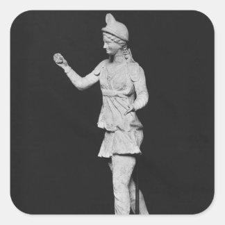 Attis dancing, Hellenistic period Square Sticker