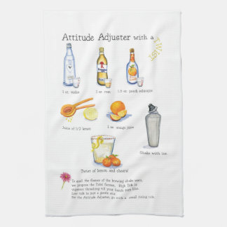 attitude adjuster cocktail bar cloth