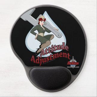 Attitude Adjustment Gel Mousepad