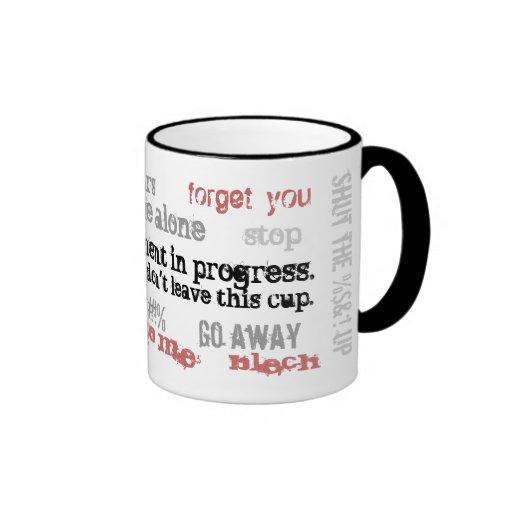 Attitude Adjustment in Progress Coffee Mug