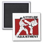 Attitude Adjustment Refrigerator Magnet