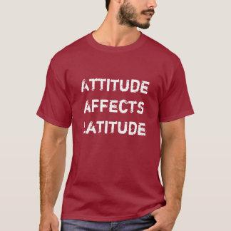 Attitude Affects Latitude Men's Tee